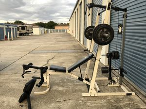 Rock fitness home gym for Sale in Oviedo, FL