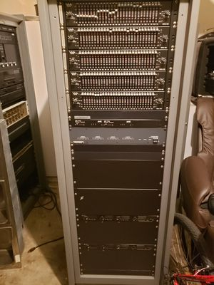 5/28 channel mixer model 4650, 2 TOA Power Amp AXB volume control,matrix biamp. for Sale in Lancaster, TX