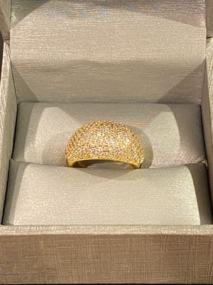 18K Gold plated Gorgeous Ring- Sparkling ✨ Code B564 for Sale in Washington, DC