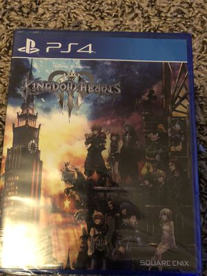 Kingdom hearts 3 PS4 game for Sale in Cypress, TX