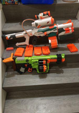 Nerf Guns or Gun Plus Extra Clips for Sale in Matthews, NC