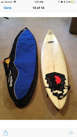 Classic Al Merrick surfboard and bag for Sale in Portland, OR