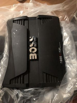 Boss amp and 2 12in subwoofers for Sale in Laveen Village, AZ