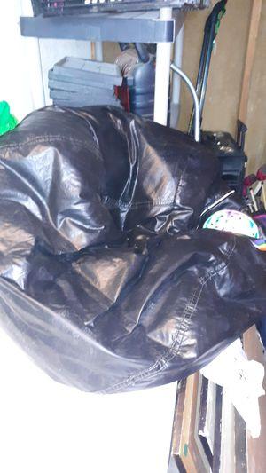 Leather bean bag chair for Sale in Phoenix, AZ