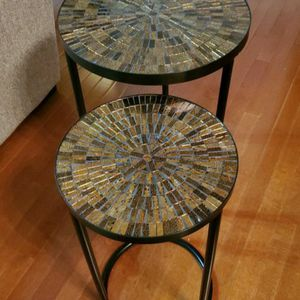 Mosaic Nesting Table for Sale in Orland Park, IL