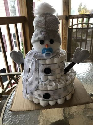 Diaper cakes for Sale in Seymour, CT