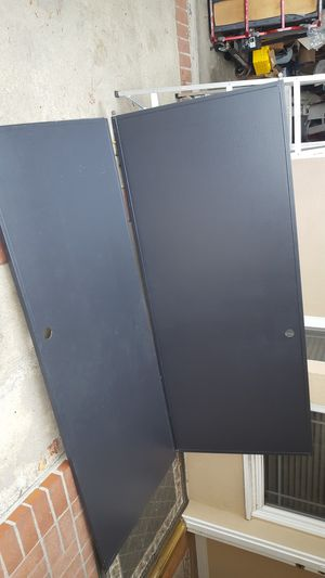 Sliding closet doors roller wheel track black 38x92&1/2 for Sale in Claremont, CA