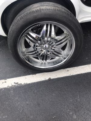 20 inch rims for Sale in Irving, TX