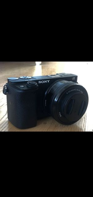 Sony a6300 Camera with lens for Sale in US
