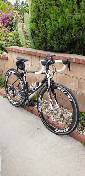 Fuji altamira full carbon fiver road bike / zipp wheelpony set cf rims (like new) for Sale in Claremont, CA