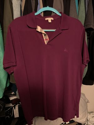 Burberry polo XXL for Sale in Antioch, CA