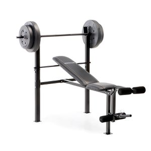 marcy 80lb Competitor Bench Press Weight Set / Gym Home / 80lbs for Sale in Oakland, CA