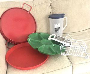 Comal, jars, trays, shower hanger, graterin for Sale in Houston, TX