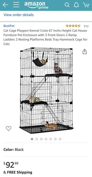 Three Tier Cage for Sale in Fresno, CA