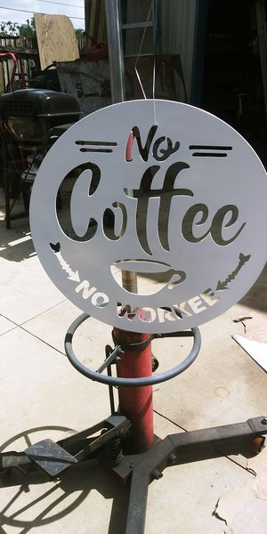 NO COFFEE NO WORKEE for Sale in Tampa, FL