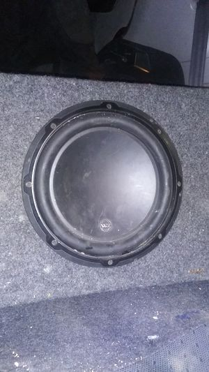"""JL Audio 10"""" sub woofer for Sale in Tacoma, WA"""