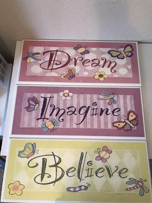 Dream, Imagine, Believe by Stephanie Marrott for Sale in Redding, CA