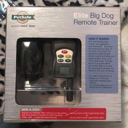 Pet safe Elite Big Dog Remote Trainer for Sale in Indianapolis,  IN