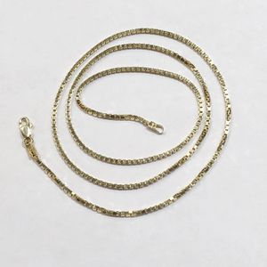 """14k Yellow Gold Women's Box Link Necklace 20"""" 89618-11 for Sale in Tampa, FL"""