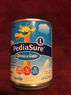 Pediasure 8 onz vanilla flavor for Sale in Manassas, VA