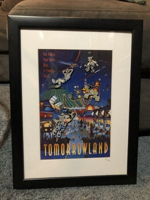 Disney limited edition framed pin art for Sale in Matteson, IL