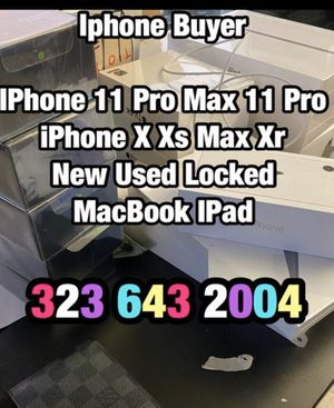 iPhone 11 Pro Max iPhone X xs max for Sale in Los Angeles, CA