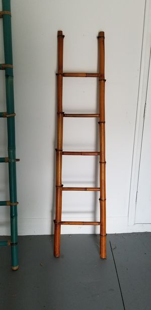 Bamboo ladder for Sale in Thonotosassa, FL