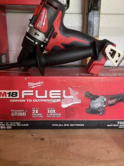 Milwaukee Grinder And Hammer Drill Brand New No Battery Not Negotiable for Sale in Plant City,  FL