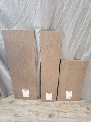 Wooden gray shelves different sizes for Sale in Orlando, FL
