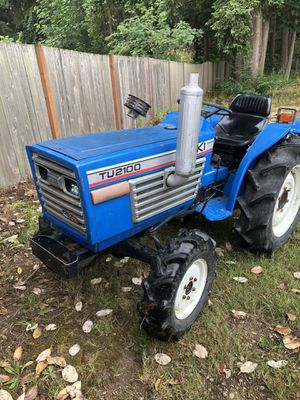 Iseki tu2100 4 wheel drive diesel tractor with tiller for Sale in Tacoma, WA