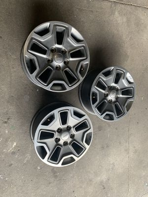 Jeep Wrangler 2013 Rims For Sale for Sale in Los Angeles, CA