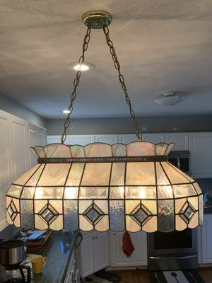 Glass hanging lamp for Sale in Troy, IL