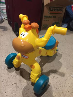 Little tikes play house , giraffe tricycle , VTech walker for Sale for sale  Hackensack, NJ