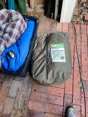 REI camping tent and sleeping bags for Sale in Tampa, FL
