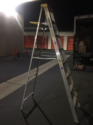 Werner aluminum ladder 8 for Sale in Santa Ana, CA