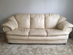Used Leather Couch for Sale in Rockville, MD