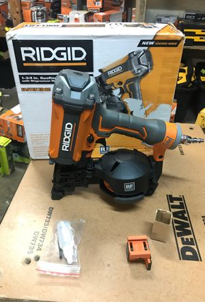 RIDGID 15-Degree 1-3/4 in. Coil Roofing Nailer for Sale in Fontana, CA