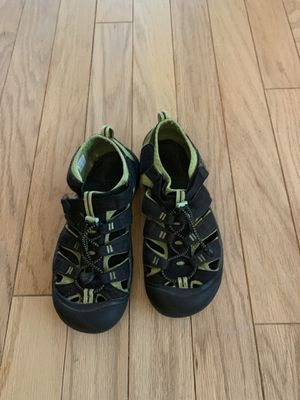 Youth green hiking waterproof shoes by KEEN for Sale in North Bethesda, MD