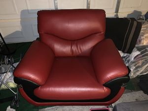 MOVING SALE!! Red couches. $100 for all 3 OBO!! for Sale in Union City, CA