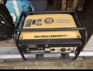 Champion generator for Sale in Camden, NJ