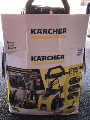 Marcher power-wash 1700 psi for Sale in Charlotte, NC