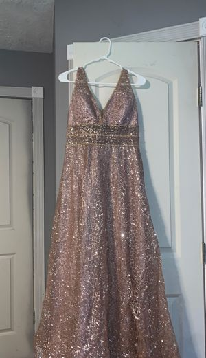 Rose gold sparkle dress for Sale in Dickinson, TX