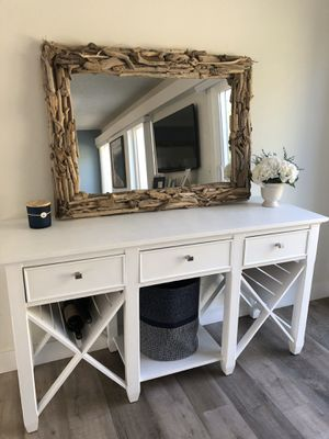 Large beach driftwood mirror for Sale in Laguna Beach, CA