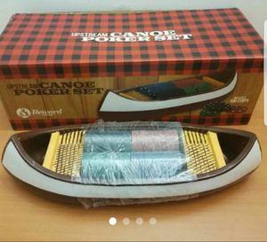 Decorative Canoe Poker Set for Sale in Arlington, VA
