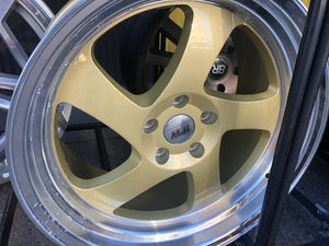 Ipw gold rims 19x8.5-10 et35 5-114.3 for Sale in Bronx, NY