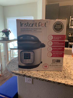 Instant Pot 6 quart for Sale in San Antonio, TX