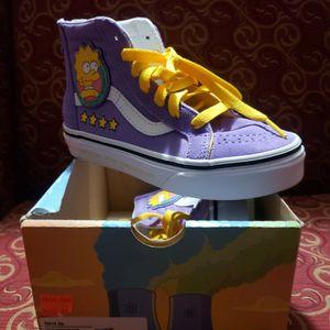 Vans Lisa Simpson Tennis Shoes 13 for Sale in Las Vegas, NV