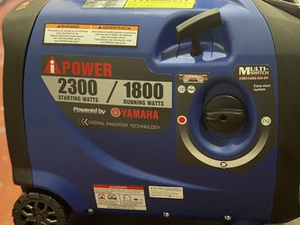 Brand New Yamaha 2300 watts Inverter Generator Only Asking $550 for Sale in La Habra,  CA