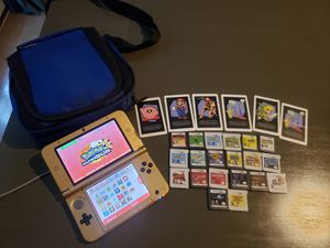 Legend of Zelda Nintendo 3DS XL with Games and Carrying Case for Sale in Dallas, TX