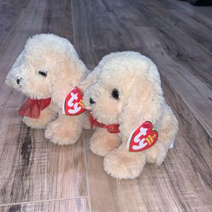 Two beanie baby golden retrievers for Sale in Lakewood, CO
